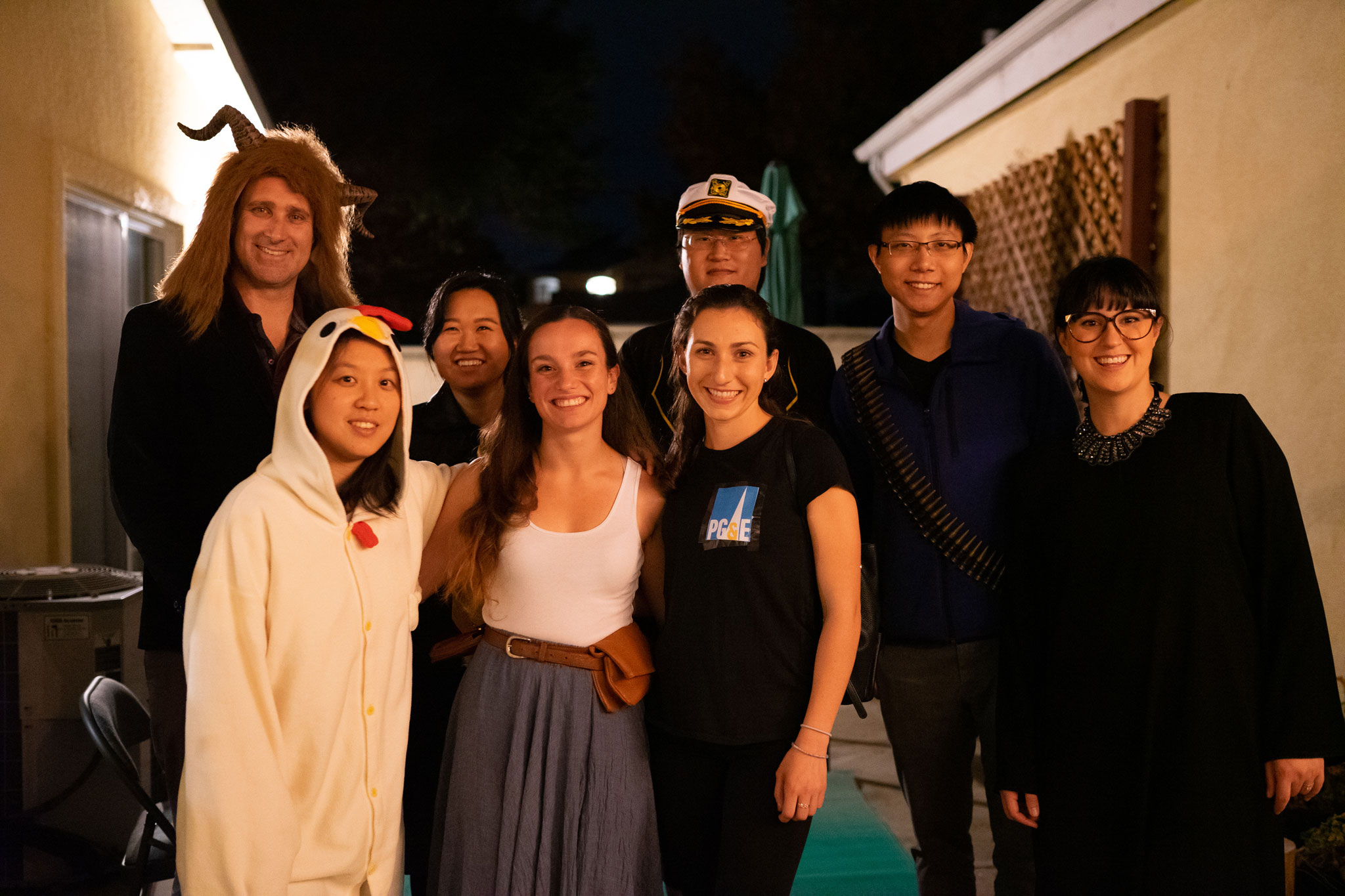 Halloween Party at Mary's house 2019!