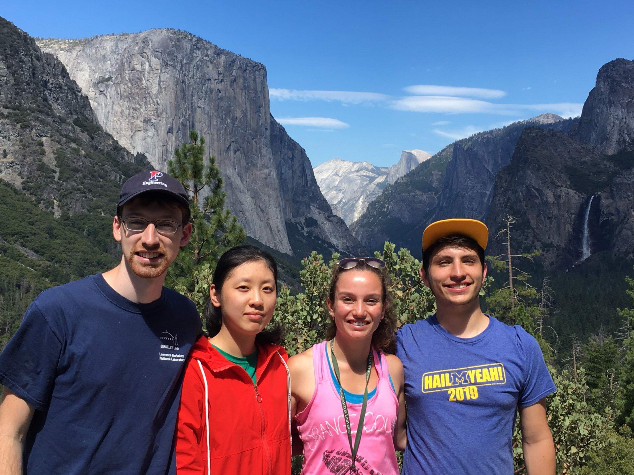 Hiking at Yosemite