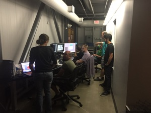 How many microscopists does it take to run an experiment?